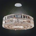 <b>【ALLEGRI】</b>クリスタルシャンデリア「LUXOR」6灯クローム(W610×H510mm)