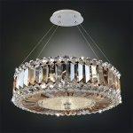 <b>【ALLEGRI】</b>クリスタルシャンデリア「LUXOR」3灯クローム(W410×H410mm)