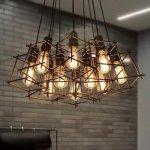 インダストリアル・スタイル照明 10灯(W800×H500)