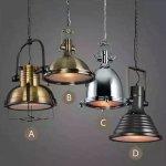 【1台在庫有!Bのみ】インダストリアル・スタイル照明(A・B・C・D)