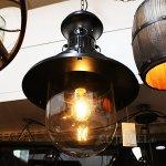 <b>【在庫有!】</b>インダストリアル・スタイル照明 ペンダントライト 1灯 ブラック(W370×H600mm)