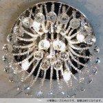 シーリング・ボールシャンデリア 8灯 クローム(W400×H250mm)