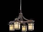 <b>【KICHLER】</b>デザイン照明4灯(W635×H432mm)