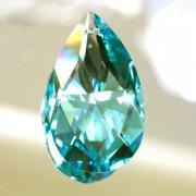 <B>【SWAROVSKI】</B>スワロフスキークリスタルパーツ ドロップ型(ダイヤカット) #8721「At. Green」