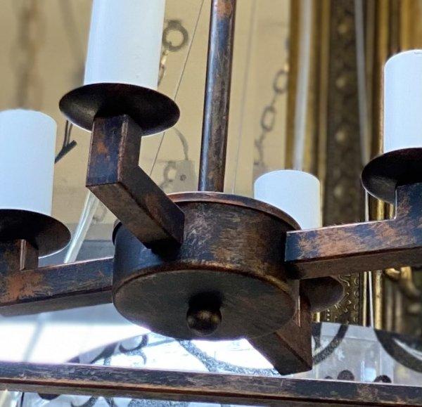 【1台在庫有】デザインペンダント「CAGED LANTERN」 4灯(W430mm)