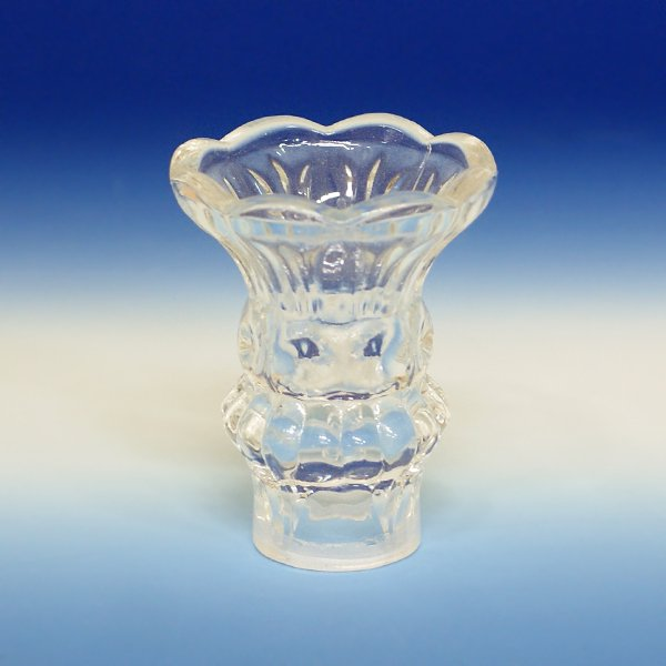シャンデリア部材【ロウカン装飾】ガラス製ロウカンカバー (フラワー型)
