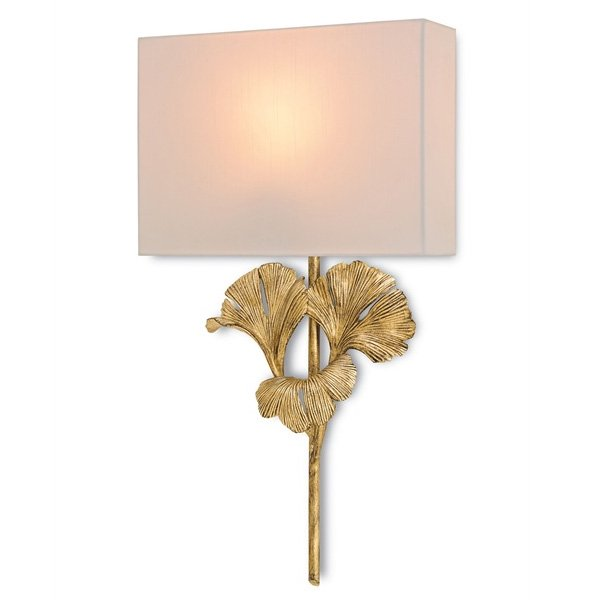 【CURREY】 「GINGKO WALL SCONCE」1灯 (W355×D102×H635mm)