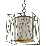 <B>【CURREY】</B>「MARMANDE SQUARE LANTERN」1灯 (W360×H480mm)