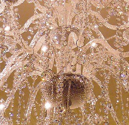 【在庫有!】【LA LUCE】 クリスタルシャンデリア24灯【豪華版・縦型】クローム