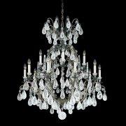 【SCHONBEK】クリスタルシャンデリ『Versailles Rock Crystal』15灯(約W980×H1120mm)