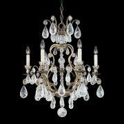 【SCHONBEK】クリスタルシャンデリ『Versailles Rock Crystal』6灯(約W560×H690mm)