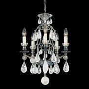 【SCHONBEK】クリスタルシャンデリ『Versailles Rock Crystal』5灯(約W370×H510mm)