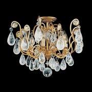 【SCHONBEK】クリスタルシャンデリア『Versailles Rock Crystal』6灯(約W530×H390mm )