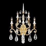 【SCHONBEK】クリスタルブラケット『Versailles Rock Crystal』5灯(約W410×H650×D250mm)