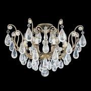 【SCHONBEK】クリスタルシャンデリア『Versailles Rock Crystal』8灯(約W690×H440mm)