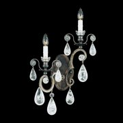 【SCHONBEK】クリスタルブラケット『Versailles Rock Crystal』2灯(約W340×H570×D130mm)