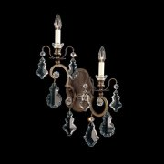 【SCHONBEK】クリスタルブラケット『Versailles』2灯(約W360×H570×D110mm)