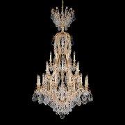 【SCHONBEK】クリスタルシャンデリ『Versailles』24灯(約W510×H410mm)