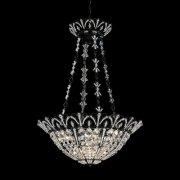 【SCHONBEK】クリスタルシャンデリア『Tiara』6灯(約W510×H710mm)