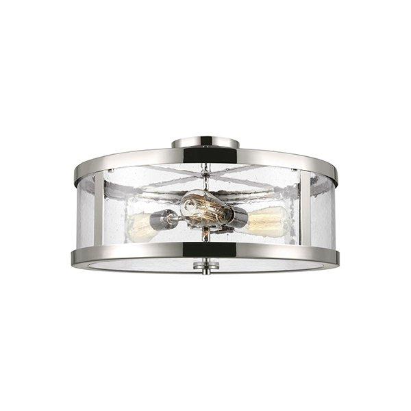 【FEISS】 アメリカ製デザインシーリングライト「HARROW」3灯(約D500×H260mm)