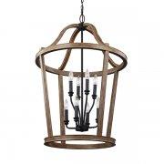 <B>【FEISS】</B>アメリカ製デザインシャンデリア「Lorenz」8灯(約D610×H930mm)