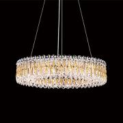 </B>【SCHONBEK】アメリカ製デザインクリスタルシャンデリ12灯(W610×H140mm)