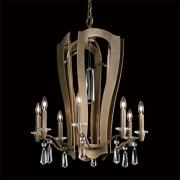 </B>【SCHONBEK】アメリカ製デザインクリスタルシャンデリ10灯(W550×H690mm)