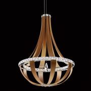 </B>【SCHONBEK】アメリカ製デザインクリスタルシャンデリ1灯(W690×H910mm)