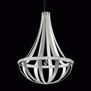 </B>【SCHONBEK】アメリカ製デザインクリスタルシャンデリ1灯(W850×H1130mm)