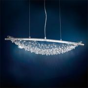 </B>【SCHONBEK】アメリカ製デザインクリスタルシャンデリ2灯(W760×H170mm)
