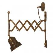 <b>【Mullan】</b>インダストリアル・スタイル ブラケット1灯(W115×H315×D200-540mm)