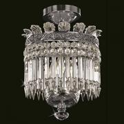 <b>【Preciosa】</b>クリスタルシャンデリア  3灯(W290×H380mm)