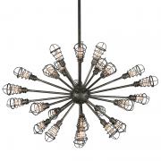 <B>【TROY】</B>アメリカ製 デザイン照明 25灯(W1070×H650mm)