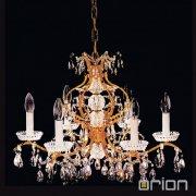 <b>【ORION】</b>クリスタルシャンデリア6灯 (φ620×H420mm)