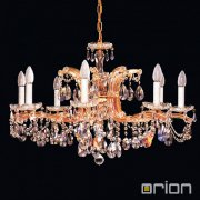 <b>【ORION】</b>クリスタルシャンデリア8灯 (φ800×H500mm)