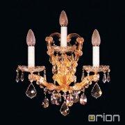 <b>【ORION】</b>クリスタルブラケット3灯 (W280×H280mm)