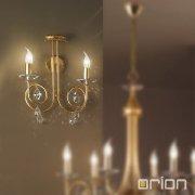 <b>【ORION】</b>クリスタルブラケット2灯 (W400×H400mm)
