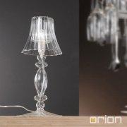 <b>【ORION】</b>ガラステーブルランプ1灯 (φ180×H420mm)
