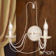 <b>【ORION】</b>アイアンウォールブラケット2灯 (W390×H400mm)