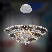 <b>【ALLEGRI】</b>クリスタルシャンデリア 10灯(Φ610×H300mm)