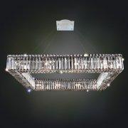 <b>【ALLEGRI】</b>クリスタルシャンデリア 16灯(W890×D890×H300mm)