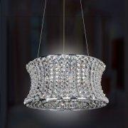 <b>【ALLEGRI】</b>クリスタルシャンデリア 8灯(W620×H200mm)