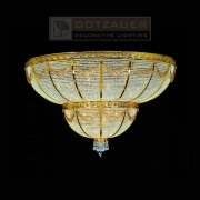 <b>【Dotzauer】</b>シーリングシャンデリア28灯ゴールド(φ1100×H700mm)