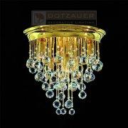 <b>【Dotzauer】</b>シーリングシャンデリア7灯ゴールド(φ420×H420mm)