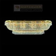 <b>【Dotzauer】</b>シーリングシャンデリア12灯ゴールド(W970×D420×H280mm)