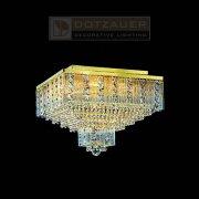 <b>【Dotzauer】</b>シーリングシャンデリア9灯ゴールド(W450×H370mm)