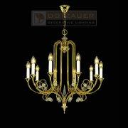 <b>【Dotzauer】</b>クリスタルシャンデリア10灯ゴールド(φ720×H760mm)