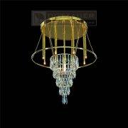 <b>【Dotzauer】</b>シーリングペンダント9灯ゴールド(φ480×H600mm)