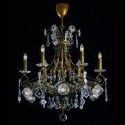 <b>【BANCI】</b>クリスタルシャンデリア6灯(W840×H880mm)※要お見積り