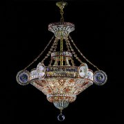 <b>【BANCI】</b>クリスタルシャンデリア9灯(W1050×H1100mm)※要お見積り